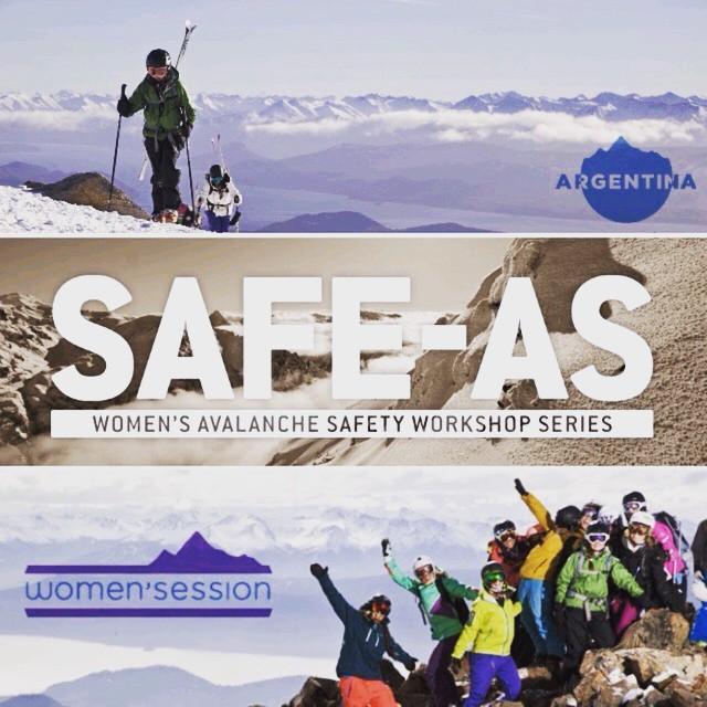 SASS Global Travel is offering an awesome deal for any 2014 SAFE-AS participants, winters not over yet ladies !!!! More info on our Facebook page. #sisterhoodofshred #sassglobaltravel #coalitionsnow #argentina #avalanchesafety