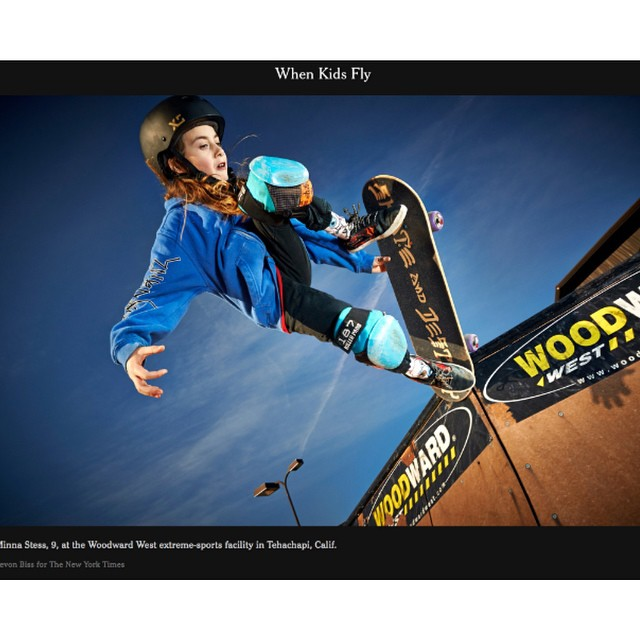 Today in the NY Times Magazine! Minna Stress is featured as part of an article on kids in extreme sports. Stoked to see @minnask8 representing our XS x @girlisnota4letterword helmet. Congrats Minna! #girlswhoshred #xshelmets #girlisnota4letterword...