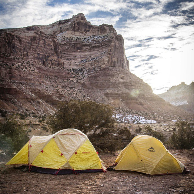 Go camping more this summer! Follow the link in our profile and read how to camp for a month this summer without quitting your job! @semi_rad  #GetOutStayOut