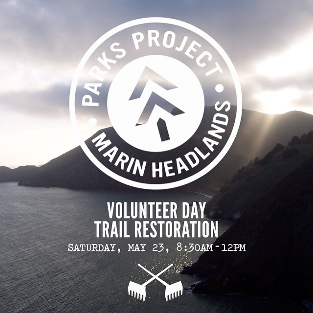 Attention Bay Area stewards! Join us 5/23 for a trail restoration project in the Marin Headlands with friends @goodpeoplelife and @prooflab! RSVP to info@parksproject.us for more details. Hope to see you there! #stewardsofparks #parksproject (Photo by...