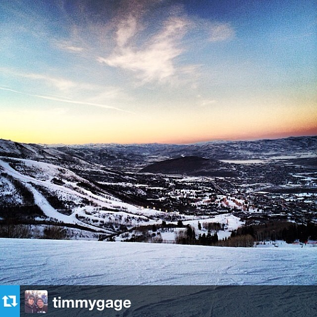 #Repost from @timmygage after ripping Park City in his #freesoul10's