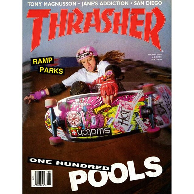 Tonight 3 legends are being inducted into the @skateboardinghalloffame.  @carabethburnside was the first female skater to ever make it to the cover of @thrashermag. She Co-Founded @thealliancesk8 & @hooplaskate with also legend @mimiknoop.  She paved...