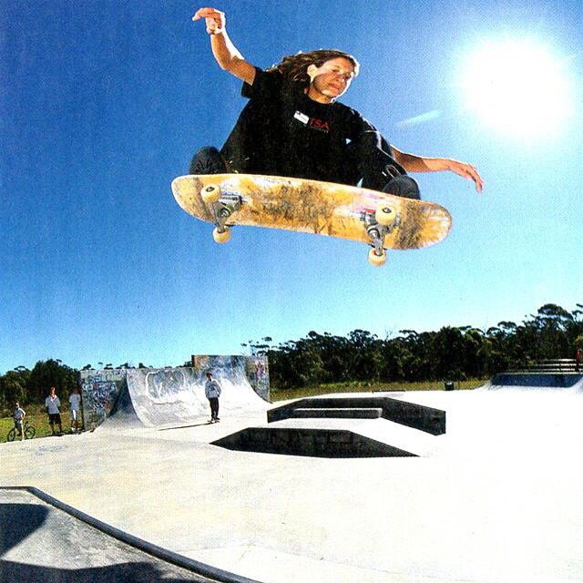 #ElissaSteamer will be inducted tonight into the @skateboardinghalloffame.  Elissa is a street legend. The first woman to ever appear in a video game (@tonyhawk's Pro Skater) as a playable character and has paved the way for us all. Forever...