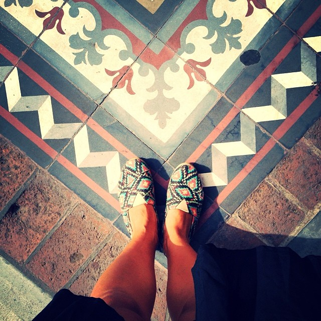 Sometimos is good to look down #Páez #paezshoes #chakana #floor #pic #instamood #walk #travel