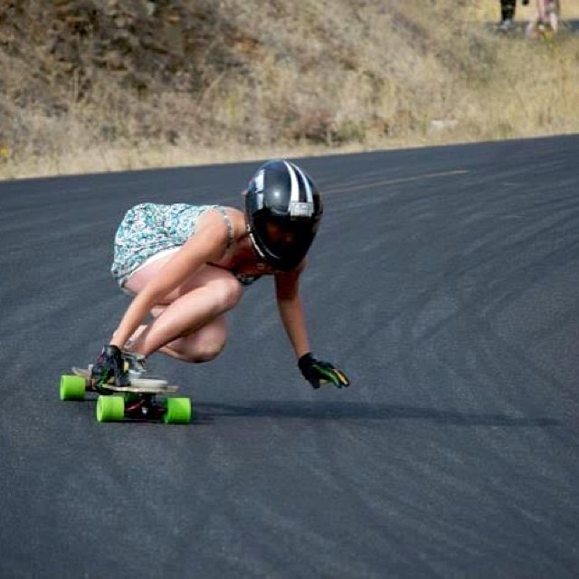 @vwaddington_skates taking a left. Check out her interview for Thane Mag! We just posted it on Facebook #longboardgirlscrew