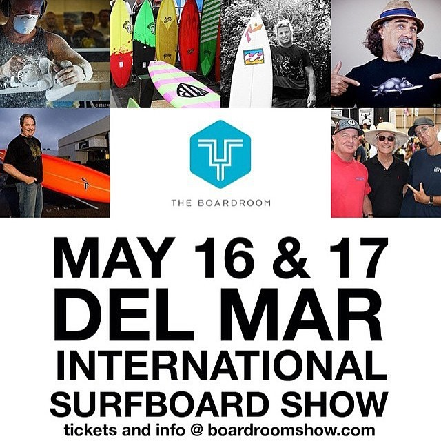 If you are in the San Diego this weekend, the @boardroomshow will be filling Del Mar with stoke and an endless quiver. Swing by our booth!!