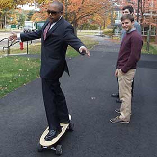 Throw Back Thursday to when @thesharkdaymond rode the ZBoard in 2012 #tbt #zboard