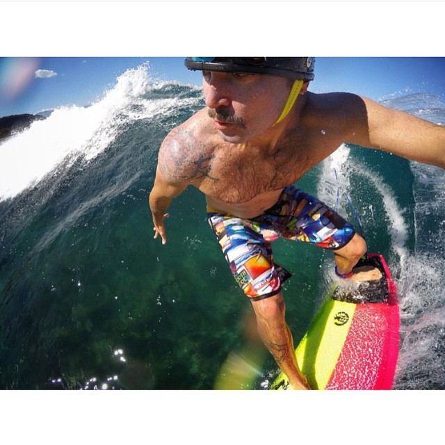 Up close and personal with @jamie.sterling  in our North Shore Collection boardshorts. If you haven't gotten yourself a pair yet, they're close to being sold out with limited sizes left! | @sean_davey #inspiredboardshorts