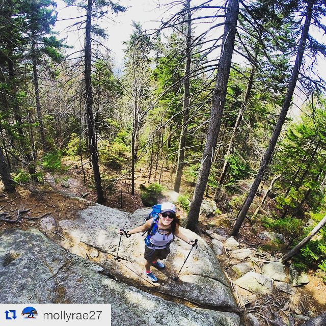 Sunday adventures with @mollyrae27. What will your weekend look like? Tag your photos with #IAmSJ to share. ・・・ Sunday adventures! #mountcardigan #firescrew #iloveNH #hiking #iamsj @shejumps #girafficornnation #bestfriend #alwaysanadventure...