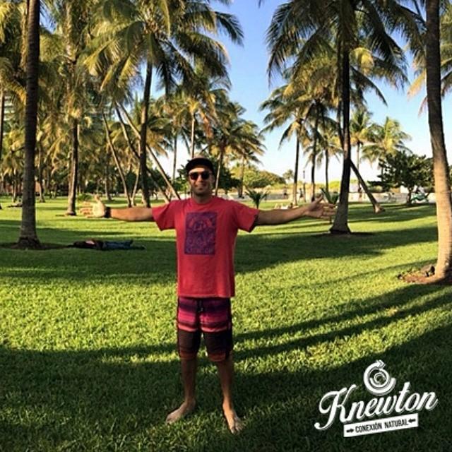 Today es Friday!! Y arrancamos el finde así! Con nuestro broda Enzo desde La Florida - USA! .:Conexión Natural:. #FLORIDA #MIAMI #USA #TRIP #BRO #TRANKASTYLE #CONEXIONNATURAL #KNEWTON