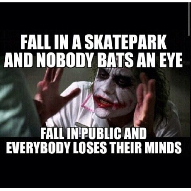Funny Regram @skatecrunchmag