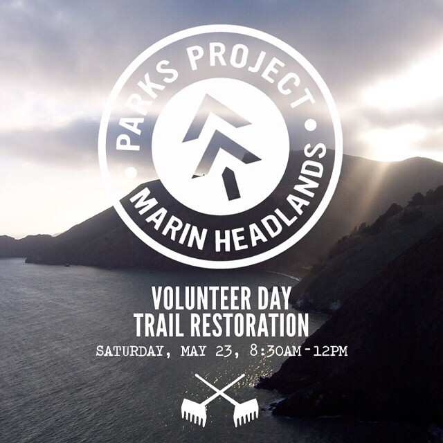 Come join us and our friends @Prooflab on May 23rd for @ParksProject Volunteer Day. We'll be getting our hands dirty for a trail restoration project in the Marin Headlands. Please RSVP to info@parksproject.us Hope to see you there! ‪#GoBigDoGood‬...
