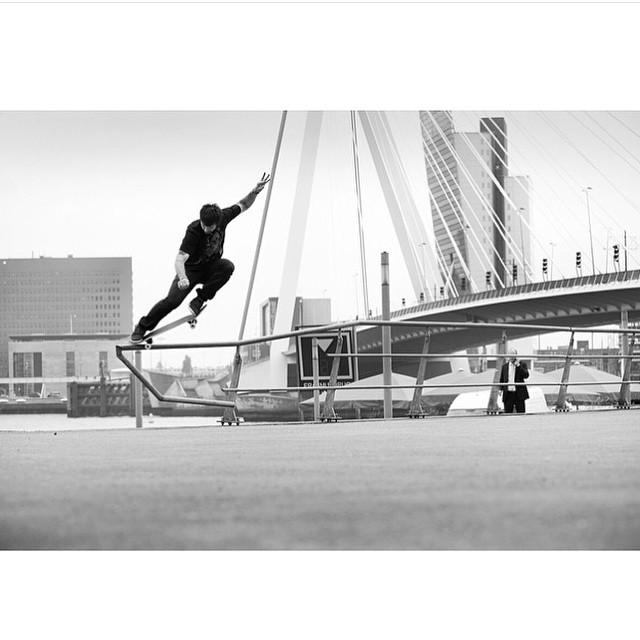 #FBF @chriscobracole, Switch crook in Rotterdam, 2011. Today Chris officially joined the @planbofficial squad alongside @dannyway, @colinmckay and @fgustavoo. Congrats! Photo: @blabacphoto #ChrisCole #DCShoes