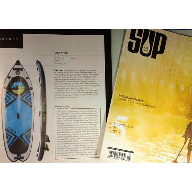 The #HalaAtcha  featured in @supthemag !!