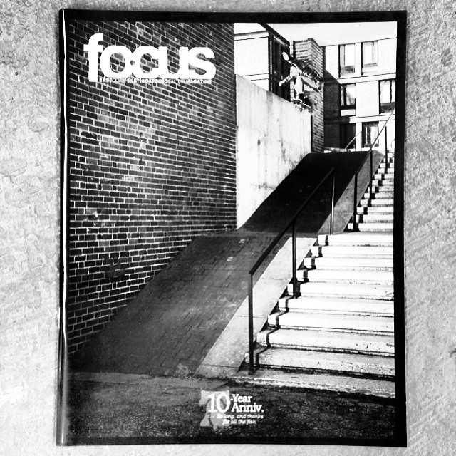 Shout out to @focusskatemag on their 60th and final issue. These guys put out an amazing publication for 10 straight years bringing the east coast grit skate and culture to shops around the country for FREE. That's a huge accomplishement and they've...
