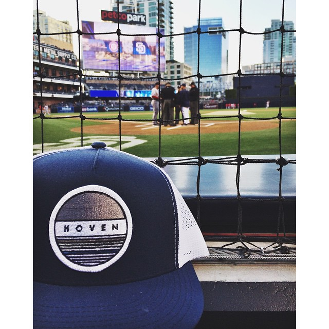 || Saturday at the ballpark ||#hovenvision #neversettle #sd #padres #gopadres #home #snapbacks #petcopark #mlb #weekendvibesz