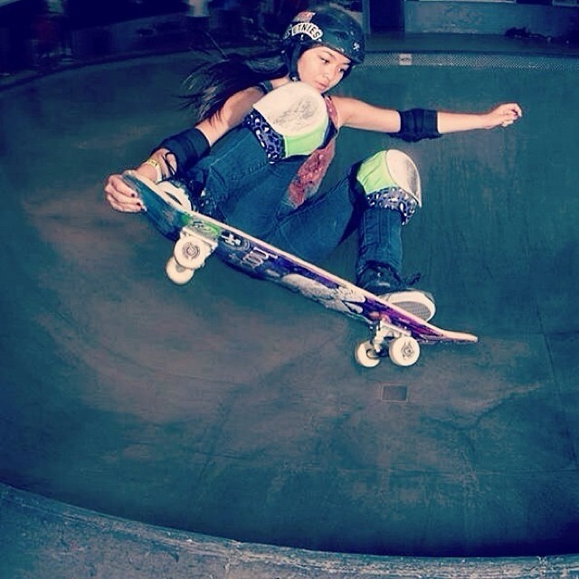 Good luck to #teamB4BC rider @allyshabergado tomorrow at the @Vans Girls Combi Pool Classic at the #VansSkatepark in Orange, CA!! Who's going to be there to see these girls shred it?  #behealthygetactive #repost from @hooplaskate