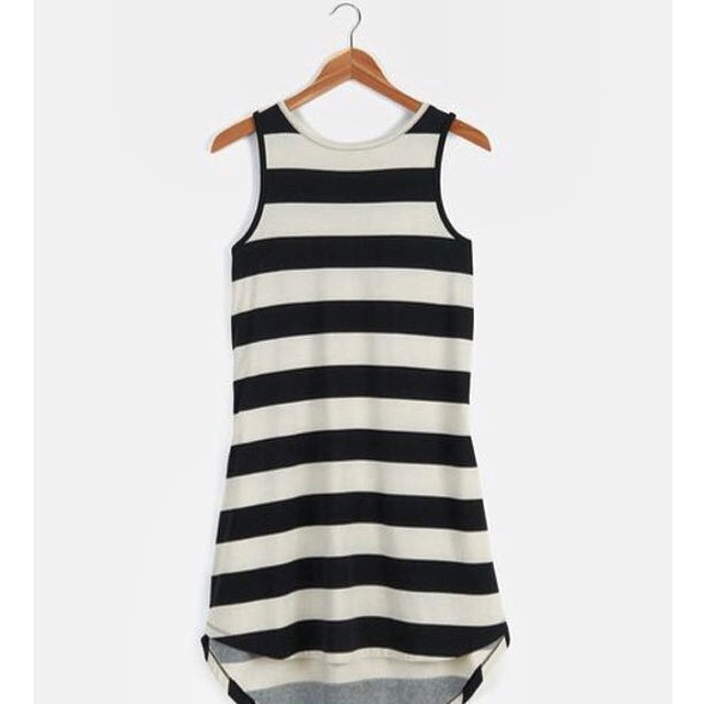 Season of stripes. Dresses are 25% off this #weekend so stock up.