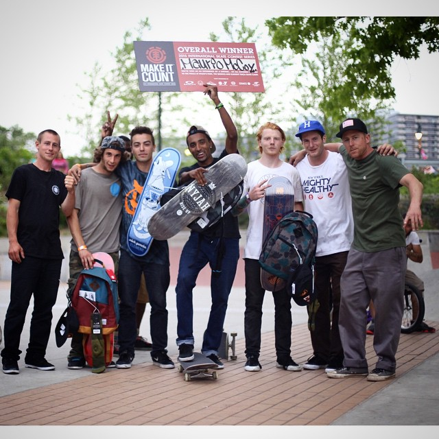 Congratulations to Mario McCoy (@maurcoy) on winning today's #ELEMENTMAKEITCOUNT at @paines_skatepark in Philadelphia. PA. He'll be coming to California this summer to compete with other finalists from around the world for Element sponsorship. Special...