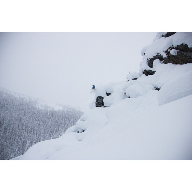 @kyepetersen dropping a nasty pillow line at @goldenalpineholidays See him send it in our latest film #shapingskiing which we will release this fall.