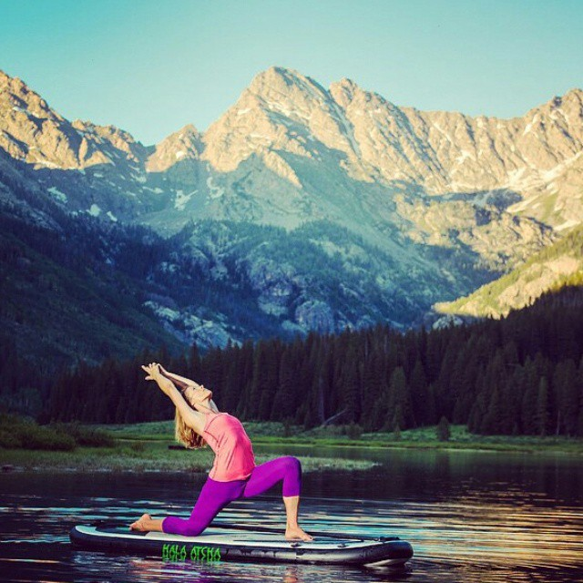 SUP yoga at the @pineyriverranch PC Jack Affleck Photography #pineyriverranch #supyoga #namastesup #retreat #wellness #sup #wellnessretreat #yogaretreat #practice #mindfulness #relax #summer #girl #takecareofyou #halaatcha #supyoga #adventure #breathe...