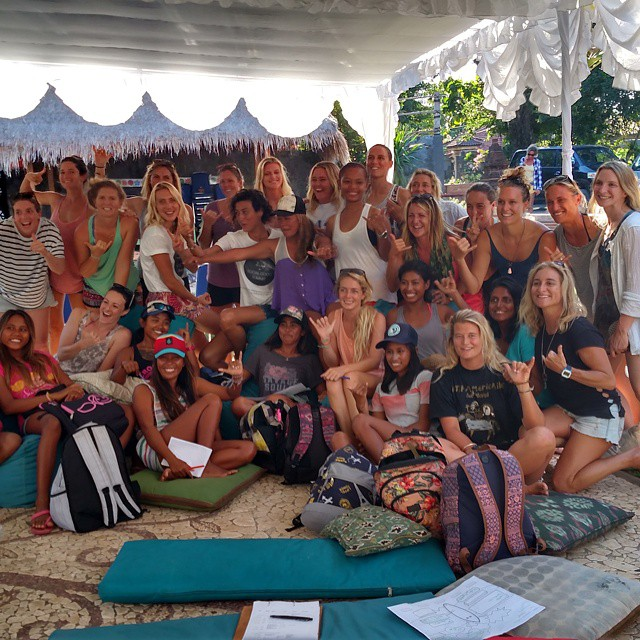 Grateful to be part of the @surfsocialgood summit with such inspiring and beautiful people! #letsmakewaves #surfsocialgood #unConference #bali