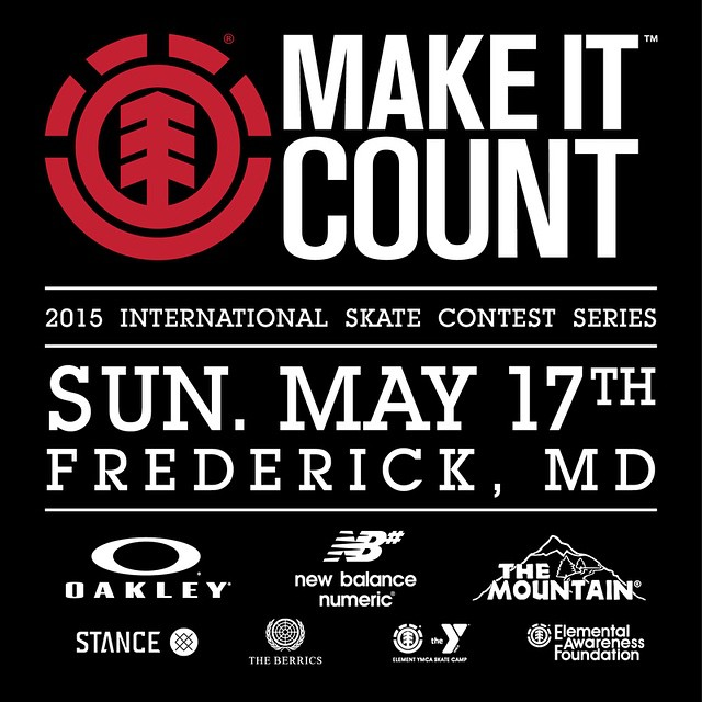 There's rain in the forecast for today's #Elementmakeitcount in Frederick, MD. If the weather holds off for long enough we're going to still have the contest, if it's pouring, we'll reschedule, and be hanging out at @pitcrew207 for the day....