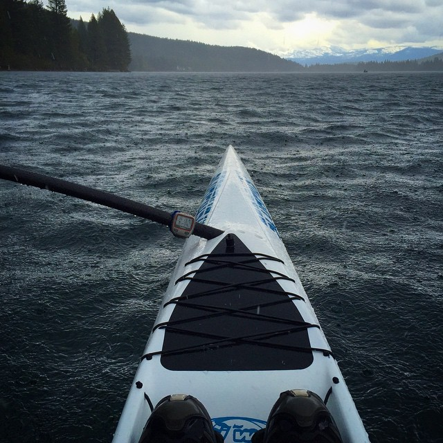 When it rains, it's rad!!! Last day of #DonnerLake workouts before heading to #AlohaLand early this week to train with @cotapilates & #PartyWave w/ friends, Ohana and @hi5sfoundation RockStars of the annual #H5TheWave team | #HighFivesAthlete |...
