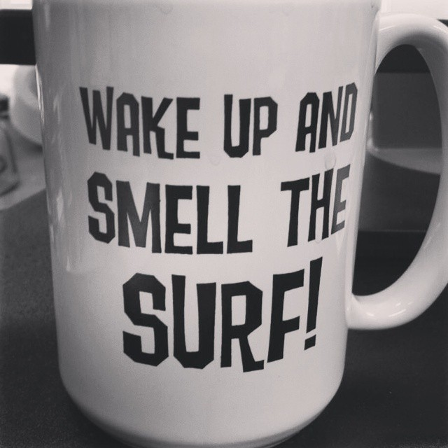 Back to the grind.  #monday #love #lovewhatyoudo #surf