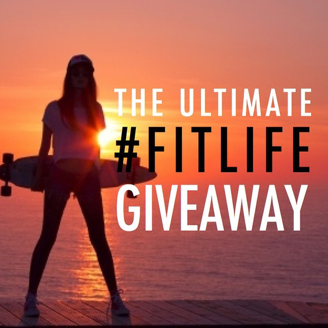 Good morning, friends! Today we're going to try something new—Welcome to the #FITLIFE giveaway loop! Just follow the easy steps listed below for your chance to win over $500 in awesome prizes from brands!  At our stop in this giveaway, you could win...