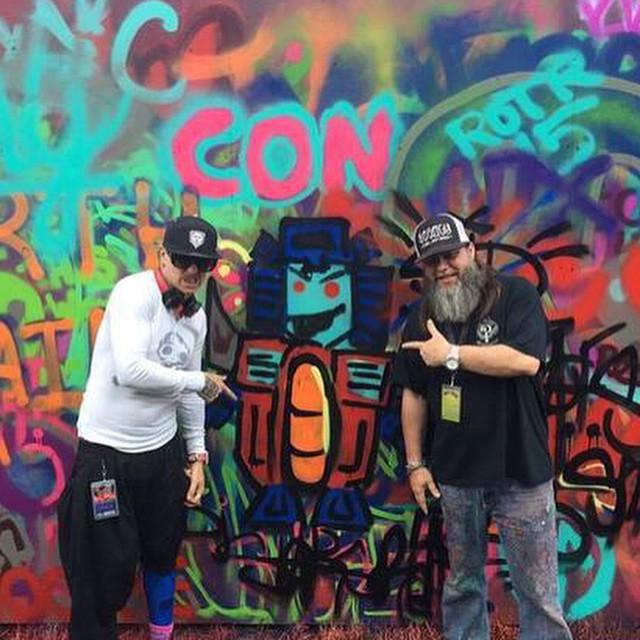 Big thanks to DJ Starscream of #Slipknot for rocking our #Lumativ Born a Lion #snapback! (Photo cred: @jonwheeler)