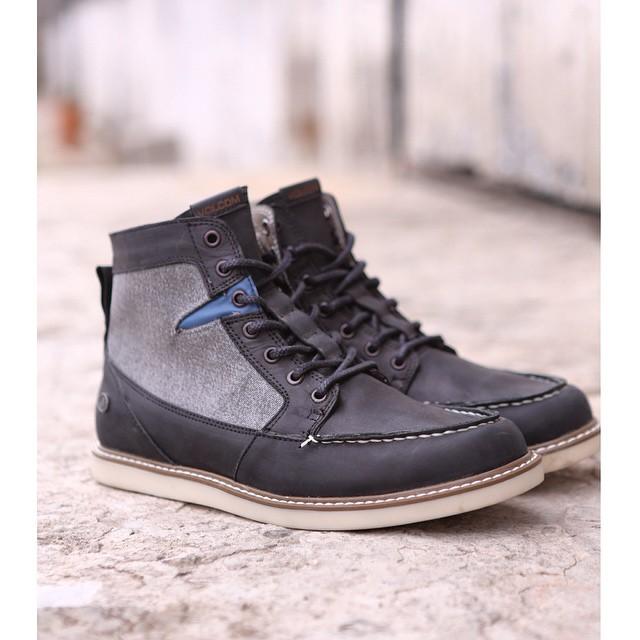 Berrington negra y gris #VolcomFootwear #AW15 #TrueToThis