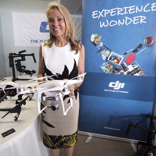 The US Ambassador to France, Jane Hartley, visited the #DJI booth at the American Pavilion during the Cannes International Film Festival.  Impressed with all of the DJI products on display, she was particularly fond of the new #Phantom3.  DJI is a...