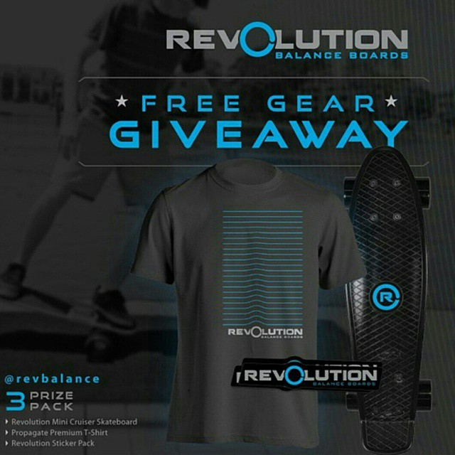 We'll be drawing our winner for our 3 Pack Revolution Giveaway ends soon! Be Sure to get your entries in! ----------------------------------------------- Win A FREE Revolution Gear Pack • Revolution Mini Cruiser Skateboard • Propagate Premium T-Shirt •...