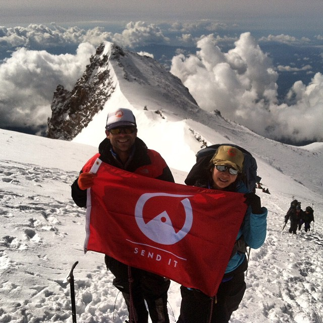 So proud of our dear friend and warrior, @vynguy for conquering Mt. Shasta this weekend! Your courage, strength and smile inspire. Thank you @jamie_schou for continuing to encourage us to send it always and reminding us that today is a gift. Fight for...