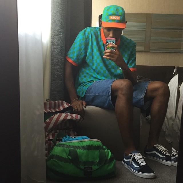 Tyler, the Creator-selfie y #OldSkool #BeTheOriginal