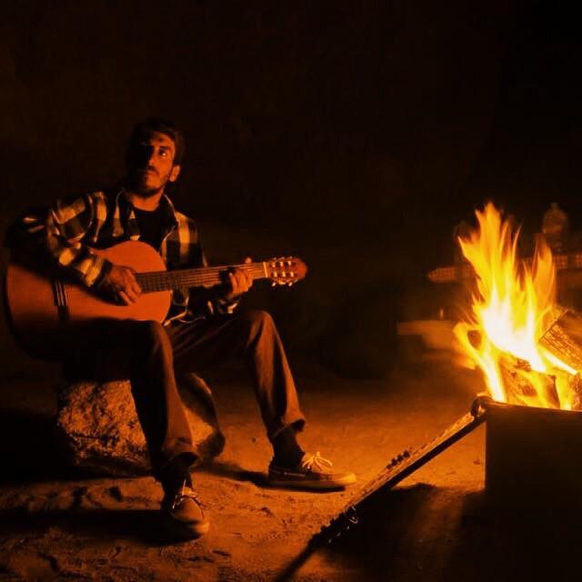 De alguna fresca noche en el desierto