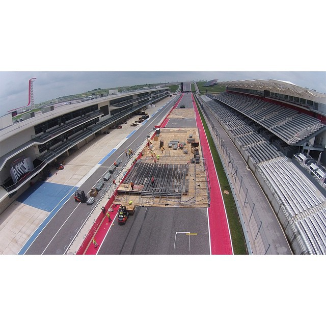#XGames construction is officially underway at @cota_official in Austin, Texas!