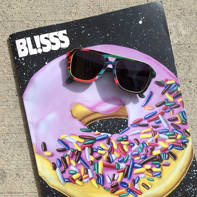 Rad cover art by @kennyscharf on Issue #93 of @blisssmag // Have you picked up yours? Our new #SkateCollection favorite, The Donner Tropical, is inside!