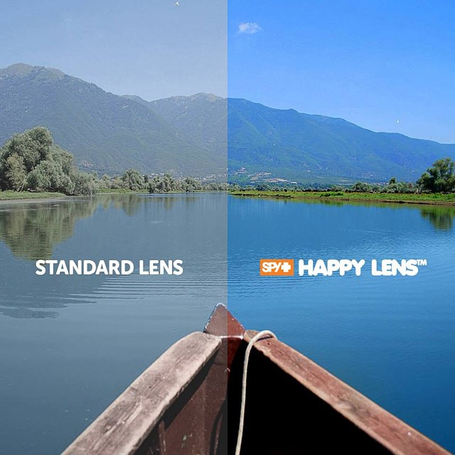 The #HappyLens offers superior color and contrast enhancement that helps you See Better, Feel Better and Perform Better.  Learn more about the only #sunglass lens with benefits through the link in our bio.  #SEEHAPPY