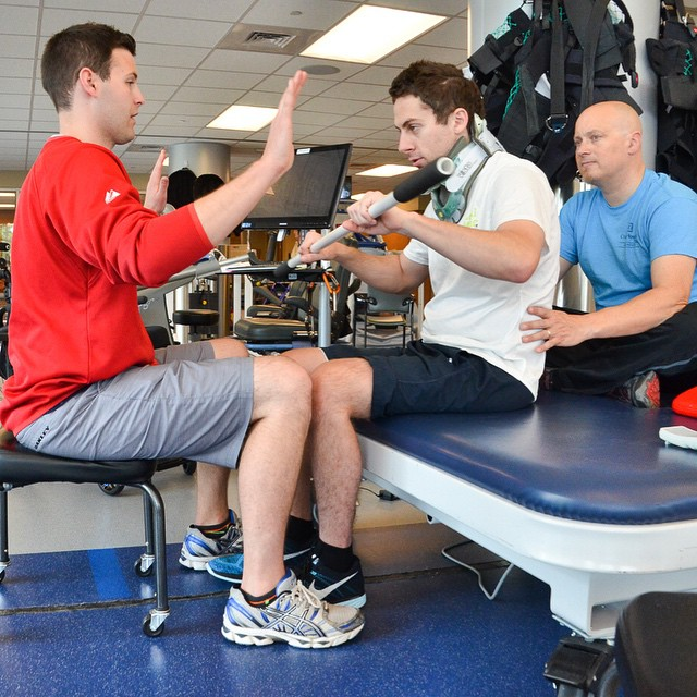A special thank you goes out to #CraigHospital for redefining possible for people with #SCI and #TBI! #HighFivesAthlete