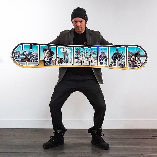 Every once in a while, something comes our way that's just too awesome not to share. So when we got our hands on one of these super rare, not-for-sale Wyoming edition @libtechnologies T.Rice 161.5 boards designed by our friend @jhtim (Tim Tomkinson),...