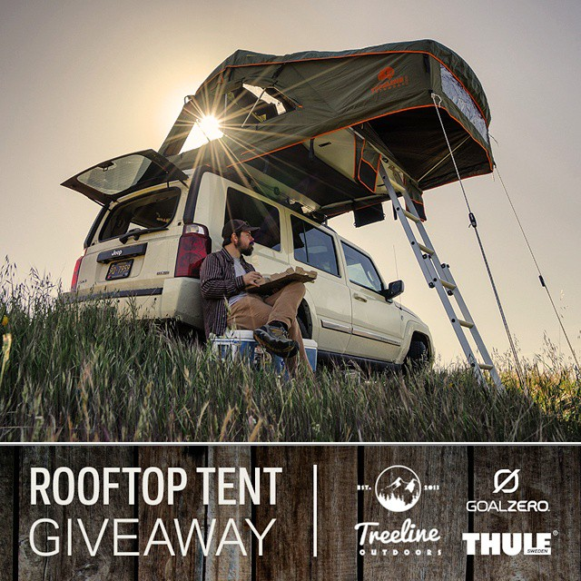 In conjunction with our Solar Ready™ collaboration with @treelineoutdoors, we're giving away a rooftop tent, Thule Aeroblade Rack System, Sherpa 100 Kit, Lighthouse 250 and a Rockout 2. Follow the link in our profile for your chance to win!...