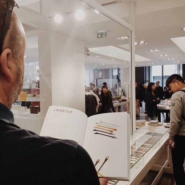 Made our way over to @colette and what do we see? Highsnobiety Mag follows us everywhere we go! #HICKIESinParis #untieyourroutine #HICKIESaroundtheworld