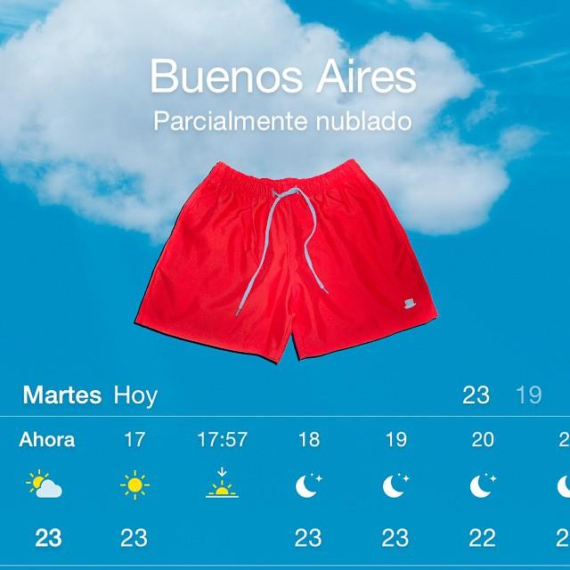 No hay nada mas que decir, el clima lo pide. #summer #borna #somosborna #swimwear #trajedebaño #clothing #shorts #resana