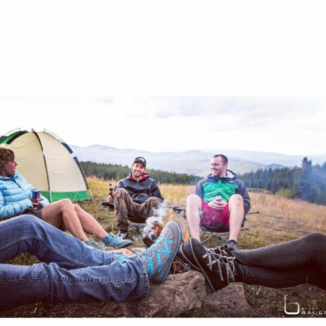 #relaxhappy on your next camping trip!! Take off your hiking boots and slip on your Pakems!! #campinglife #hikinglife #comfortable #lightweight #waterresistant #packable