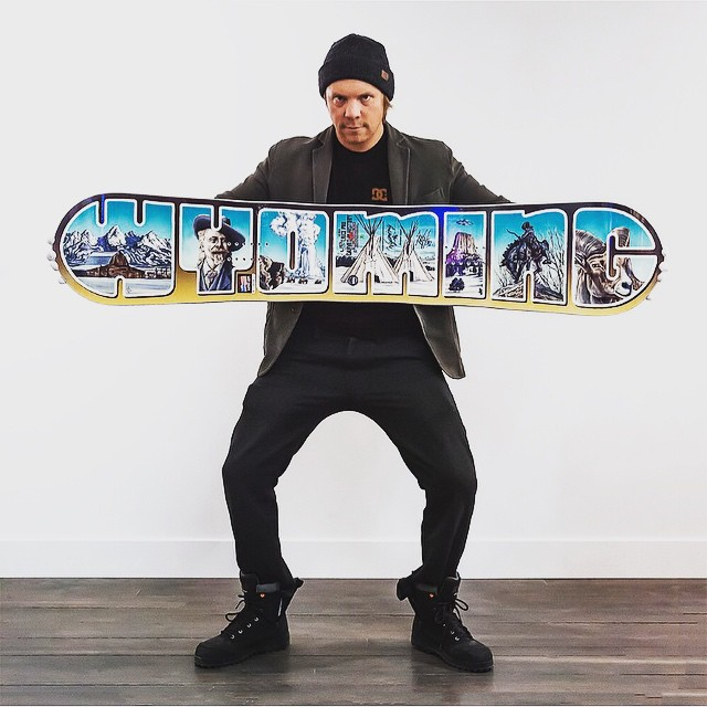 Get yerself a ridiculously limited edition, not fer sale @libtechnologies board designed by @jhtim and signed by the man himself @travisrice! Click the link in the @asymbol profile and win! #Asymbol #snowboarding #22crew #liveactivated