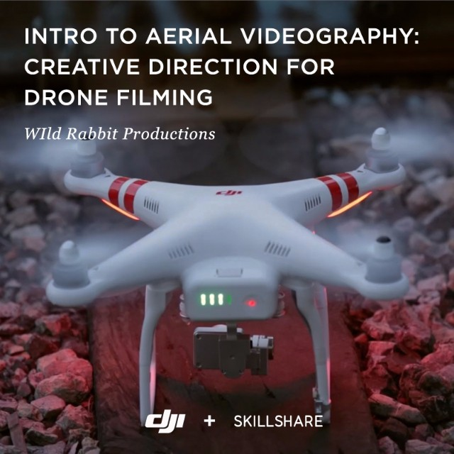 Learn how to plan and capture #aerial footage in this 45-minute class #DJI built with @Skillshare.  Follow along with pros @WildRabbitProd as they cover gear, camera maneuvers, shooting practices, and more. It's the perfect way to get started or...