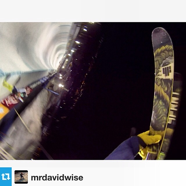 #Repost of @mrdavidwise POV shred'n the new WISE. Does the view from your office look like this?