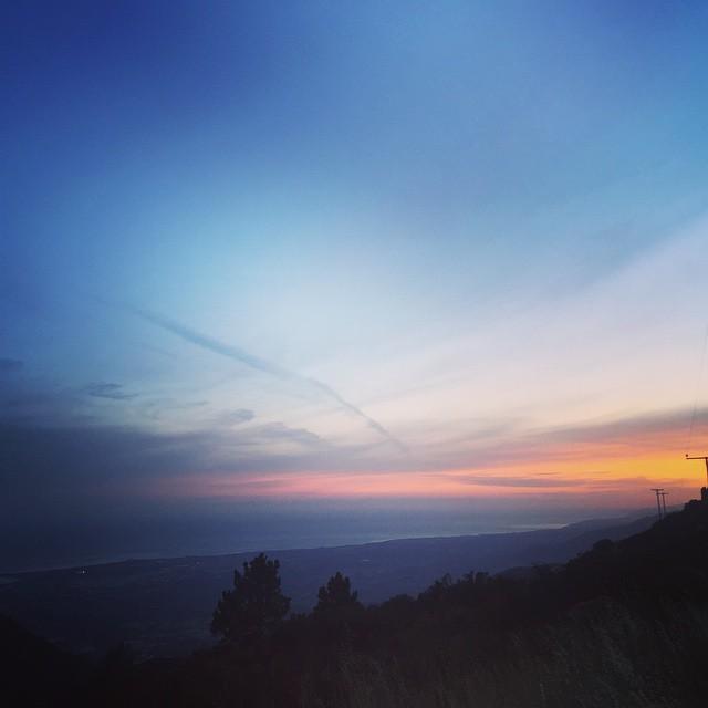 Camping in the Santa Barbara hills tonight!  #bonzing #california